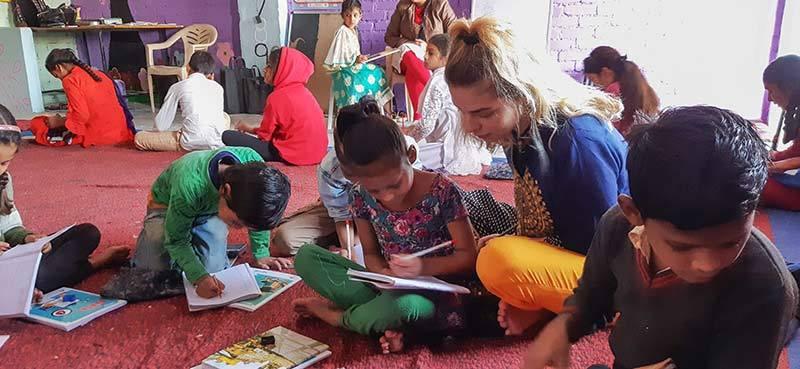 apprendre une langue en volontariat